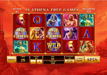 Age of The Gods Playtech New Online Game Review