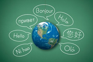 speak a different language