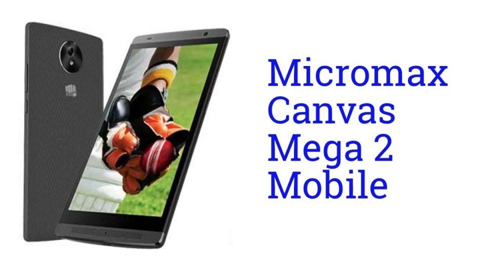 Micromax Canvas Mega 2