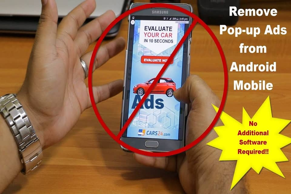 stop pop up ads on android