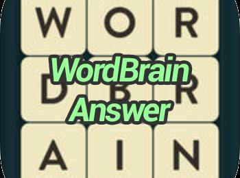 WordBrain-Answers