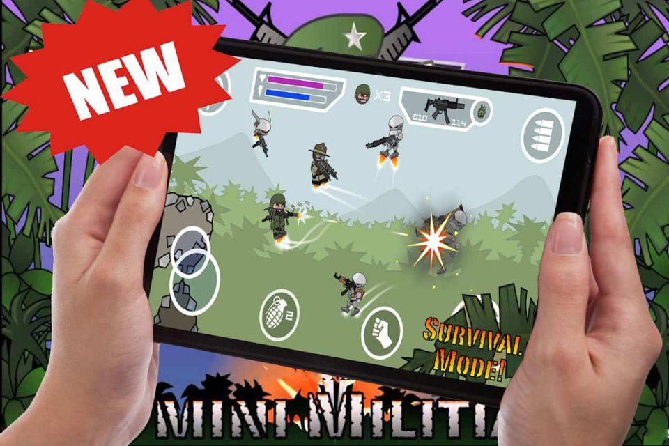 How To Play Mini Militia 2