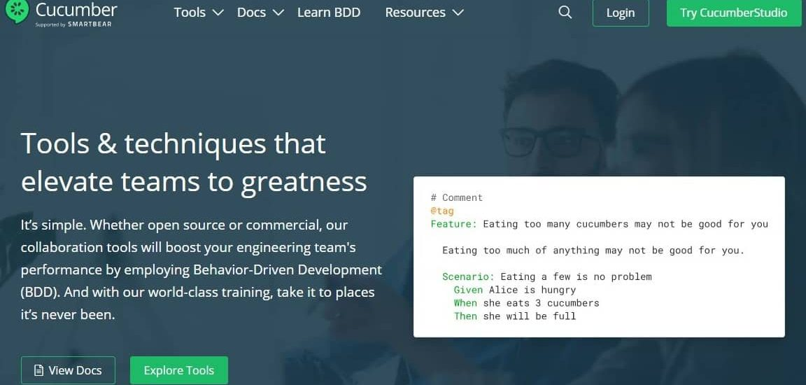 Cucumber: Open-source Software Testing tool