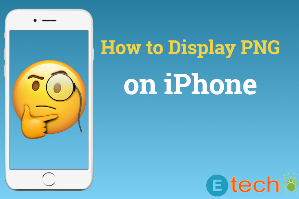How to Display a PNG on an iPhone