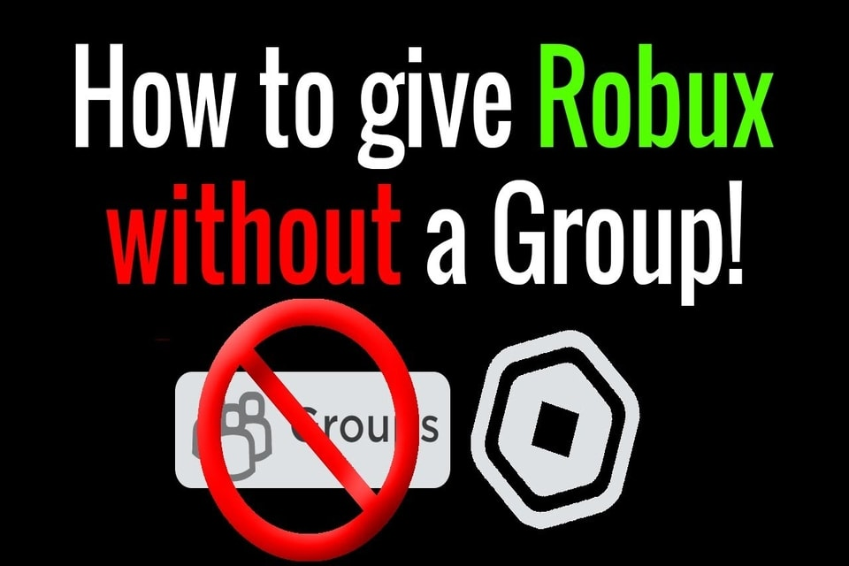 how to donate robux on roblox