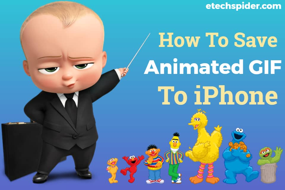 How to save Animated GIF to iPhone