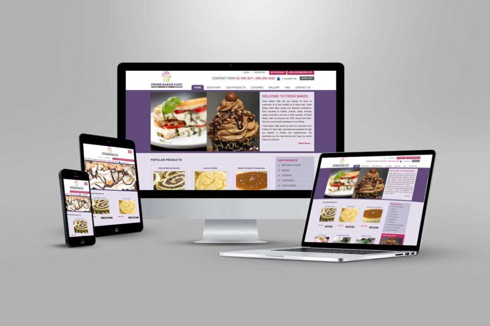 E-commerce Website elements