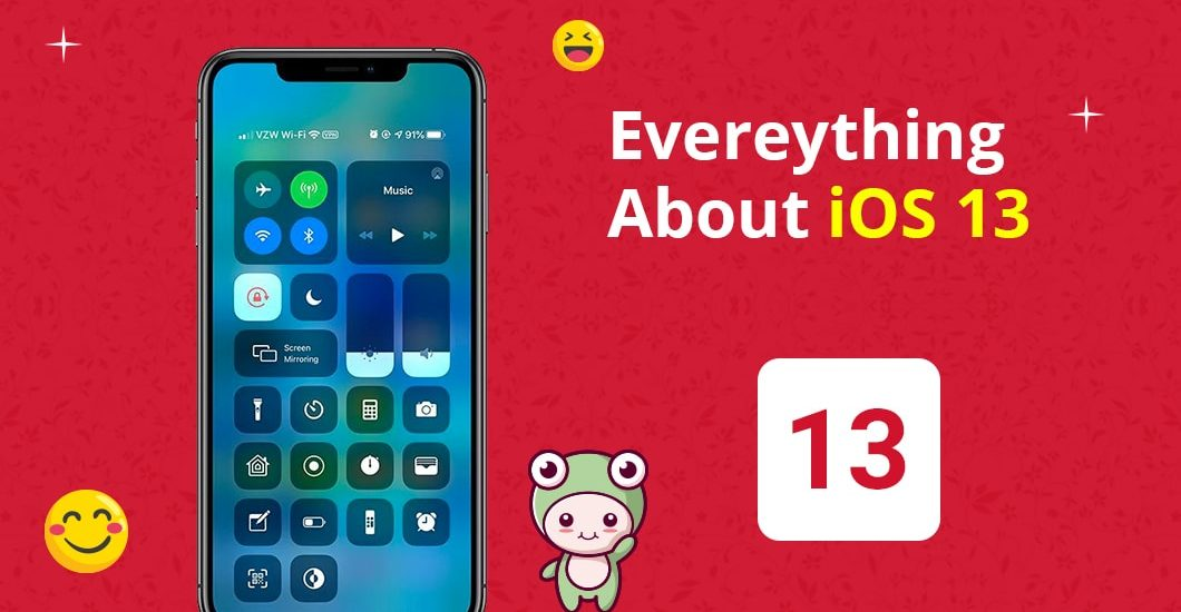 Everything about iOS 13